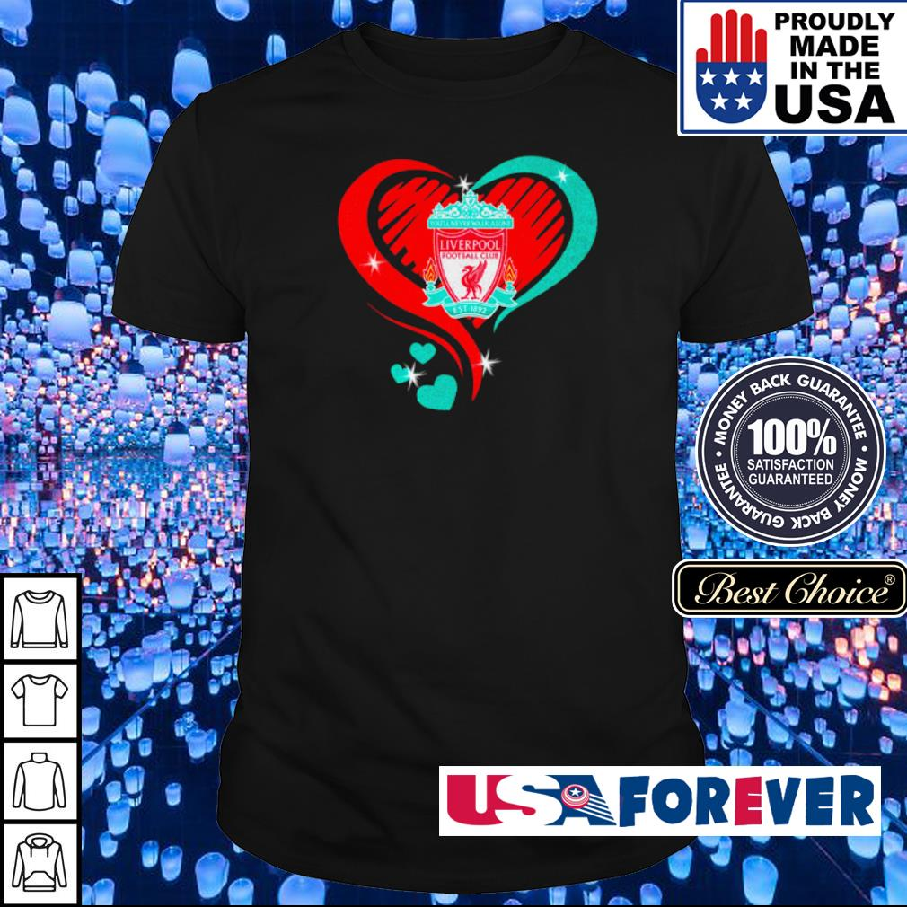 Liverpool Football Club Love heart shirt