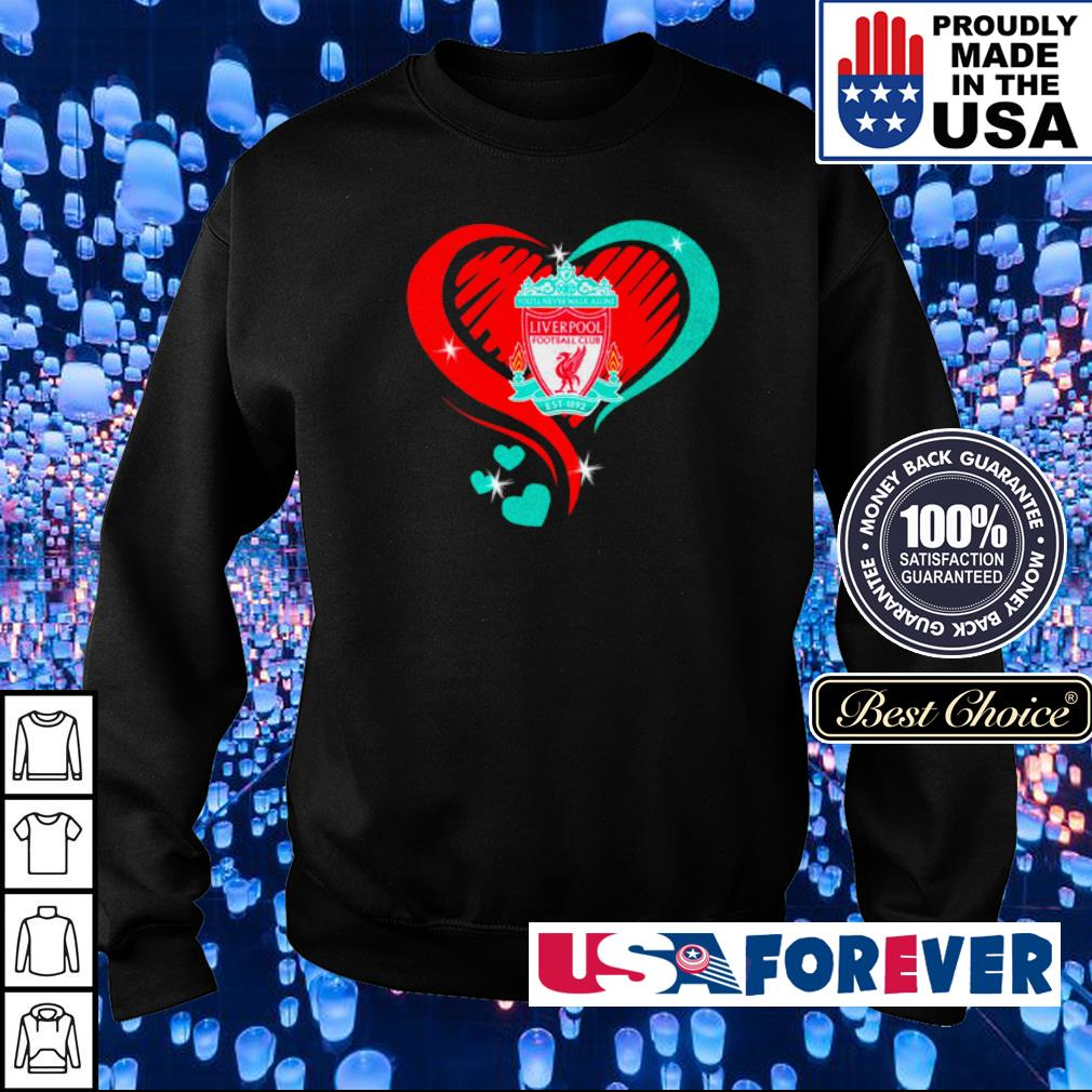 Liverpool Football Club Love heart s sweater