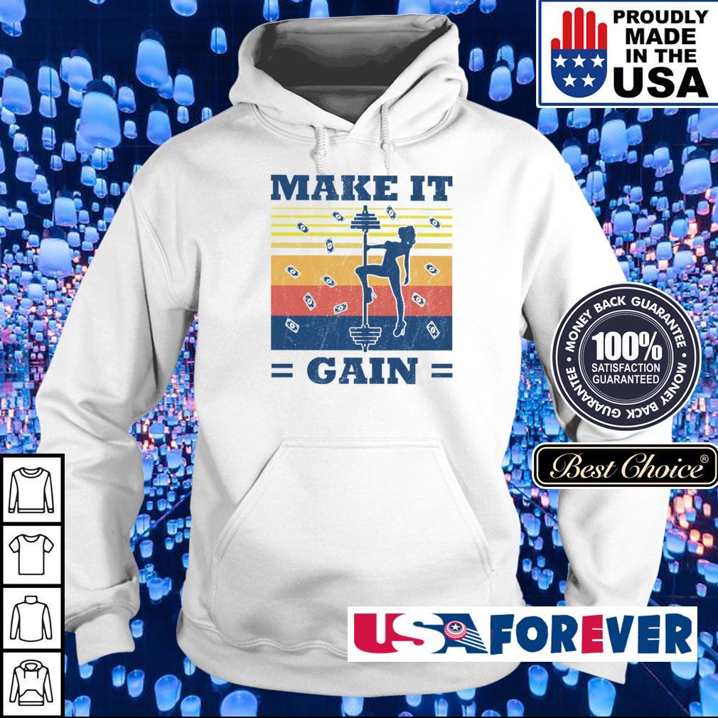 Make it gain vintages s hoodie