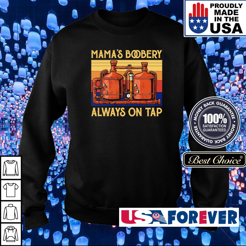 Mama's bobery always on tap vintage s sweater