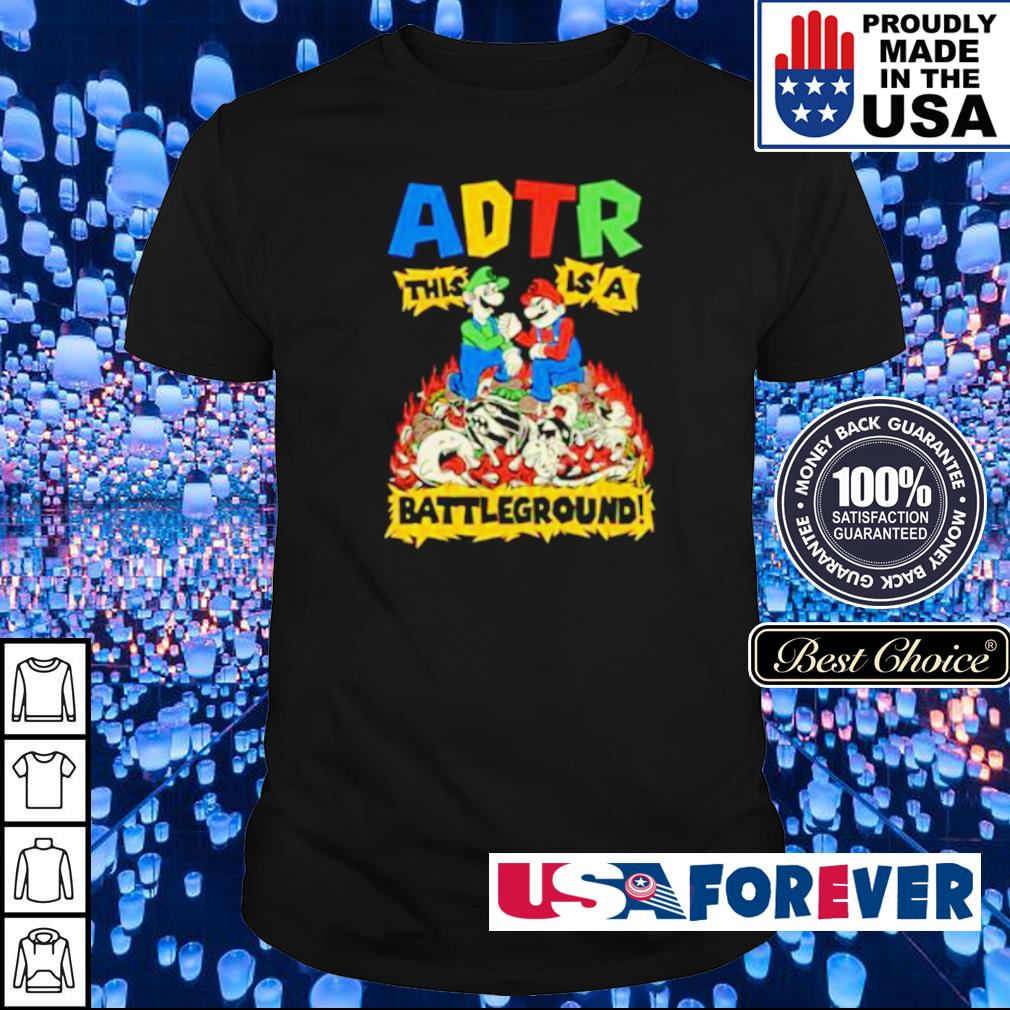 Mario ADTR This is a Batteground shirt