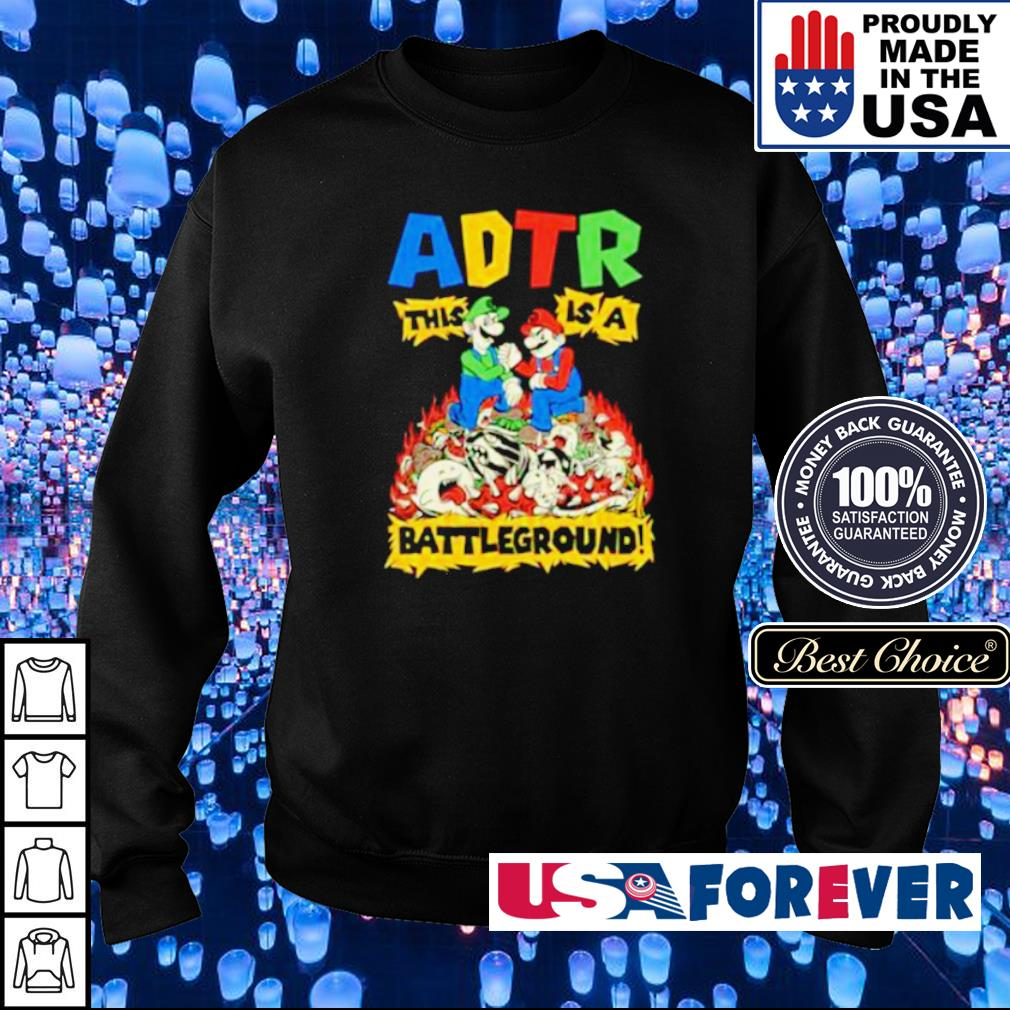 Mario ADTR This is a Batteground s sweater