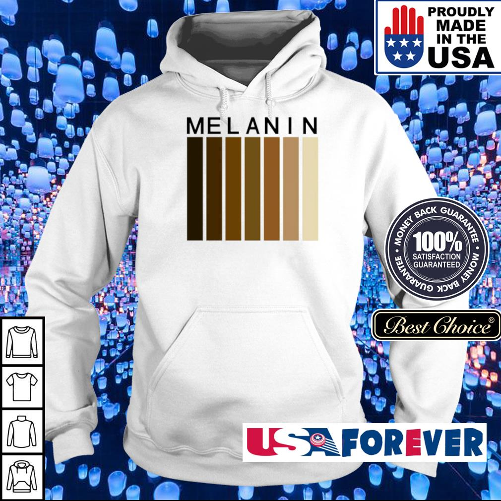 Melanin black pride s hoodie