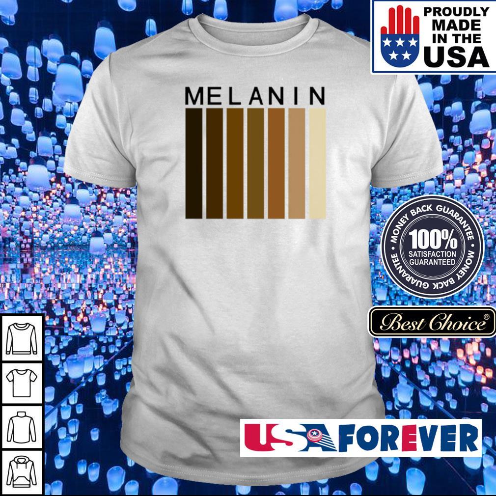 Melanin black pride shirt
