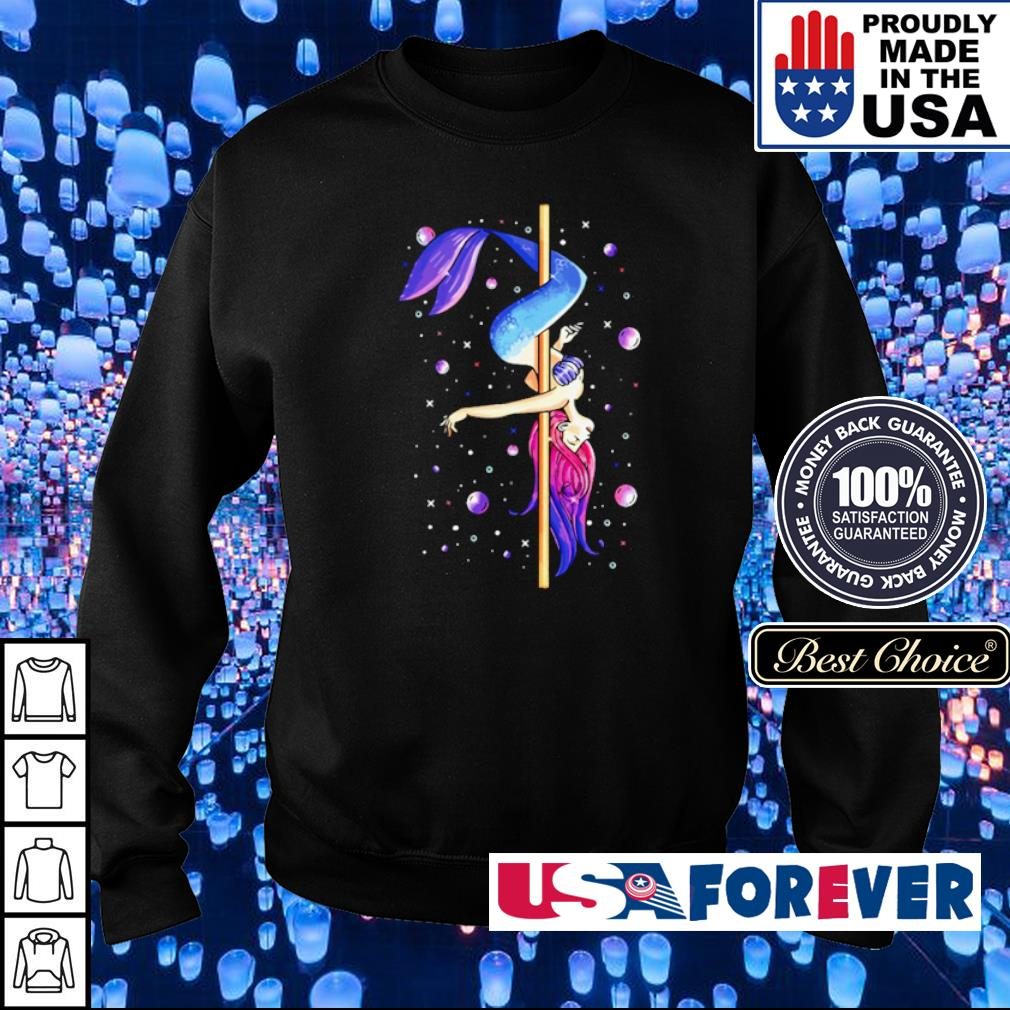 Mermaid pole dancing s sweater