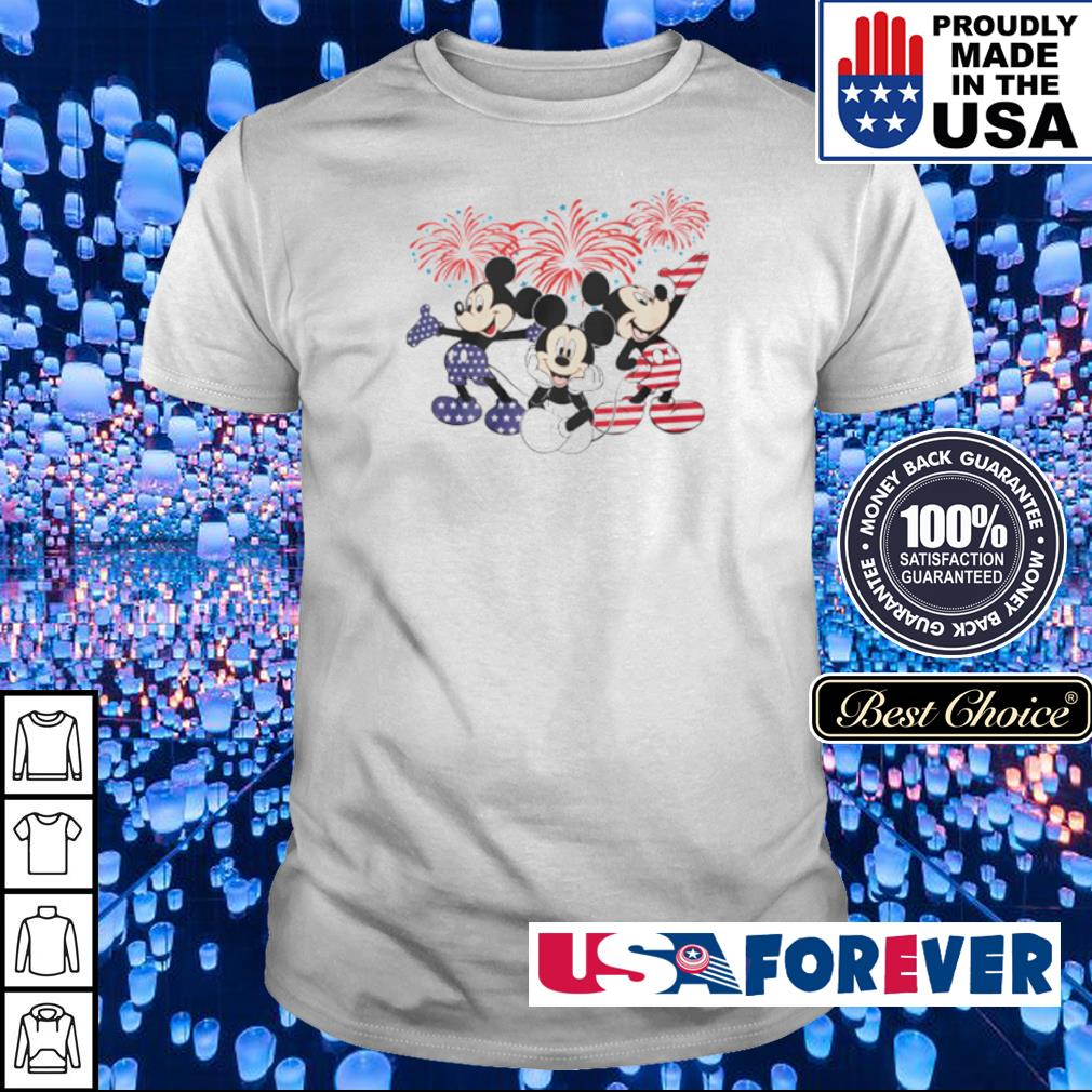 Mickey Mouse 4th of july independence day shirt