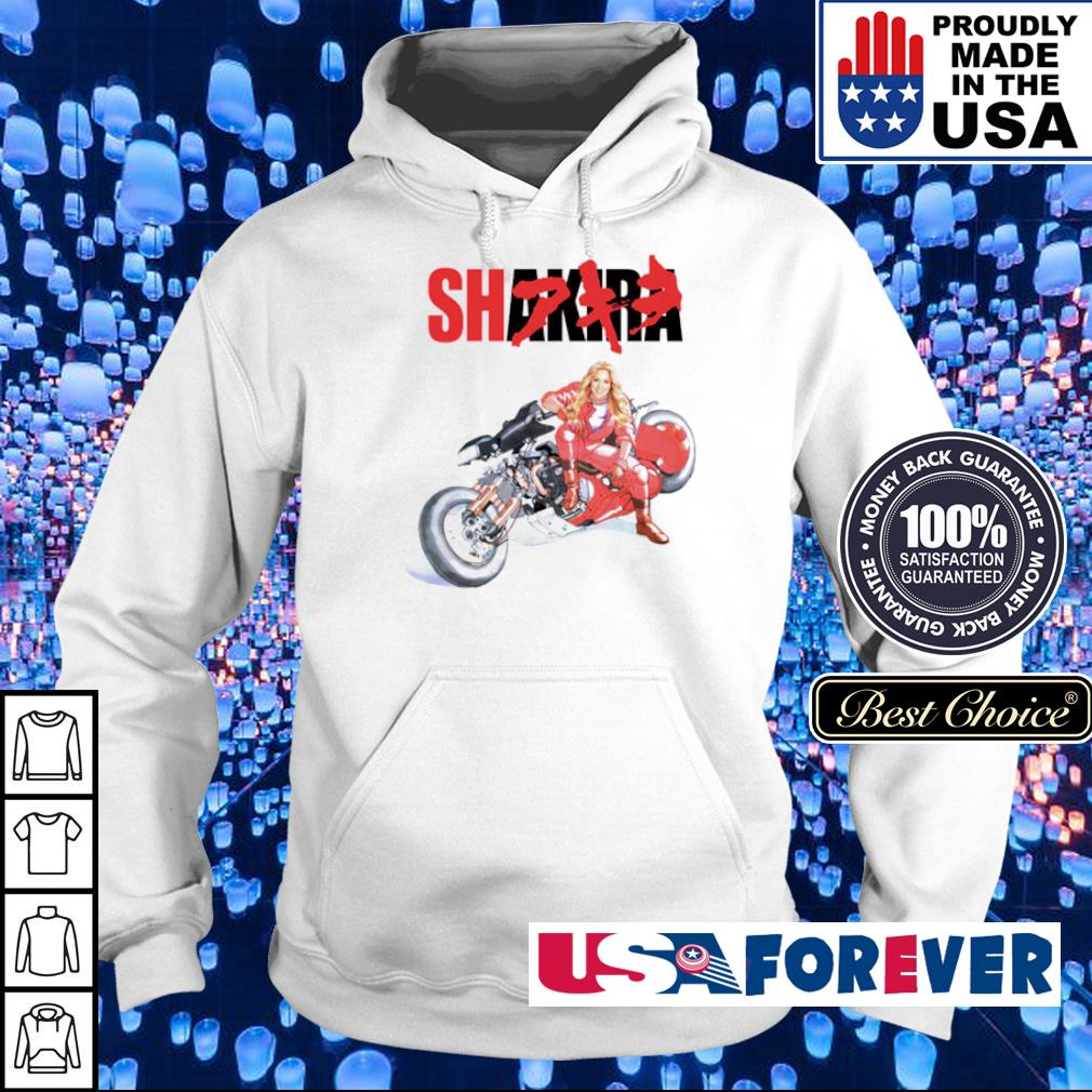 Motorcycle Shakira s hoodie