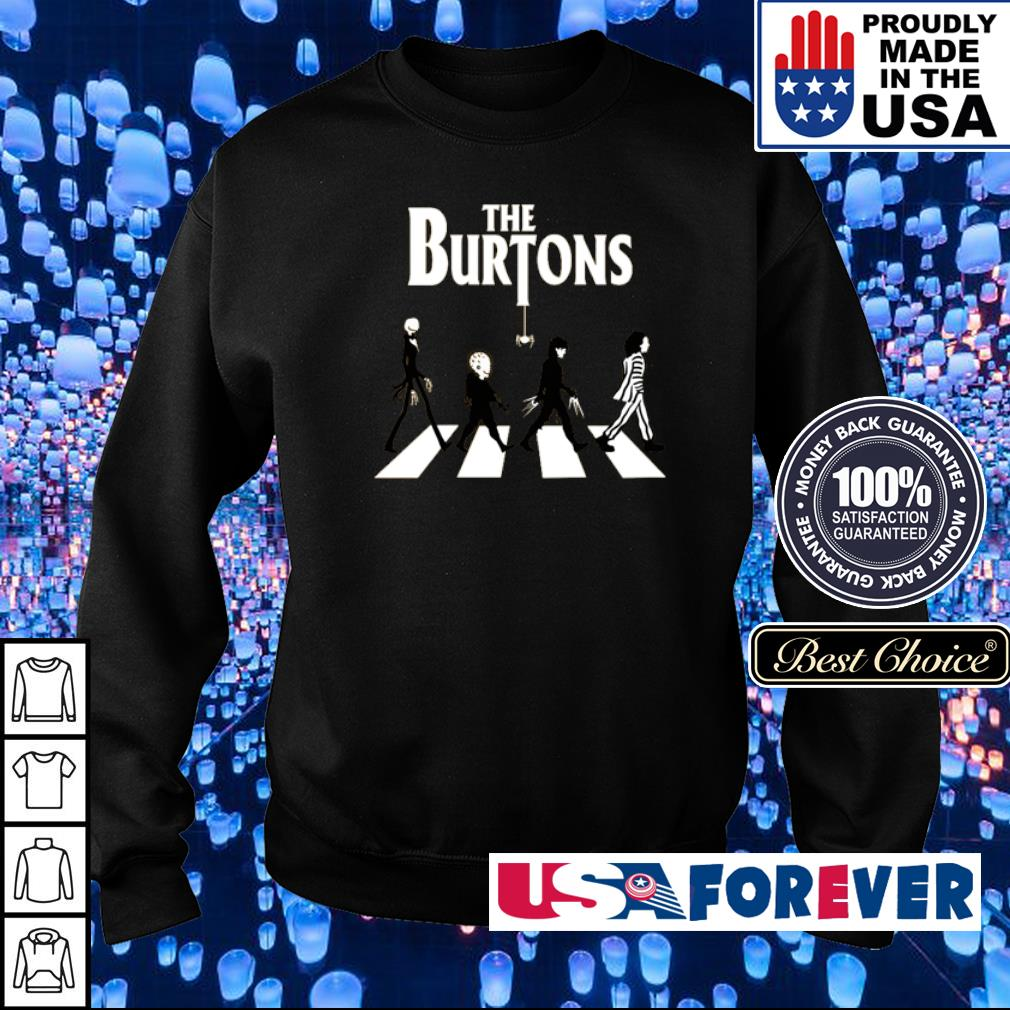Movies lovers the Burtons Abbey Road s sweater