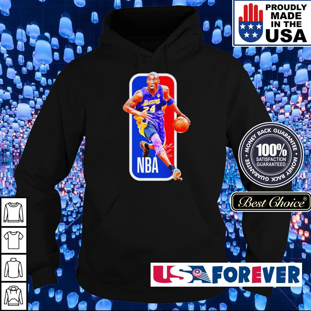 NBA RIP Kobe Bryant signature s hoodie
