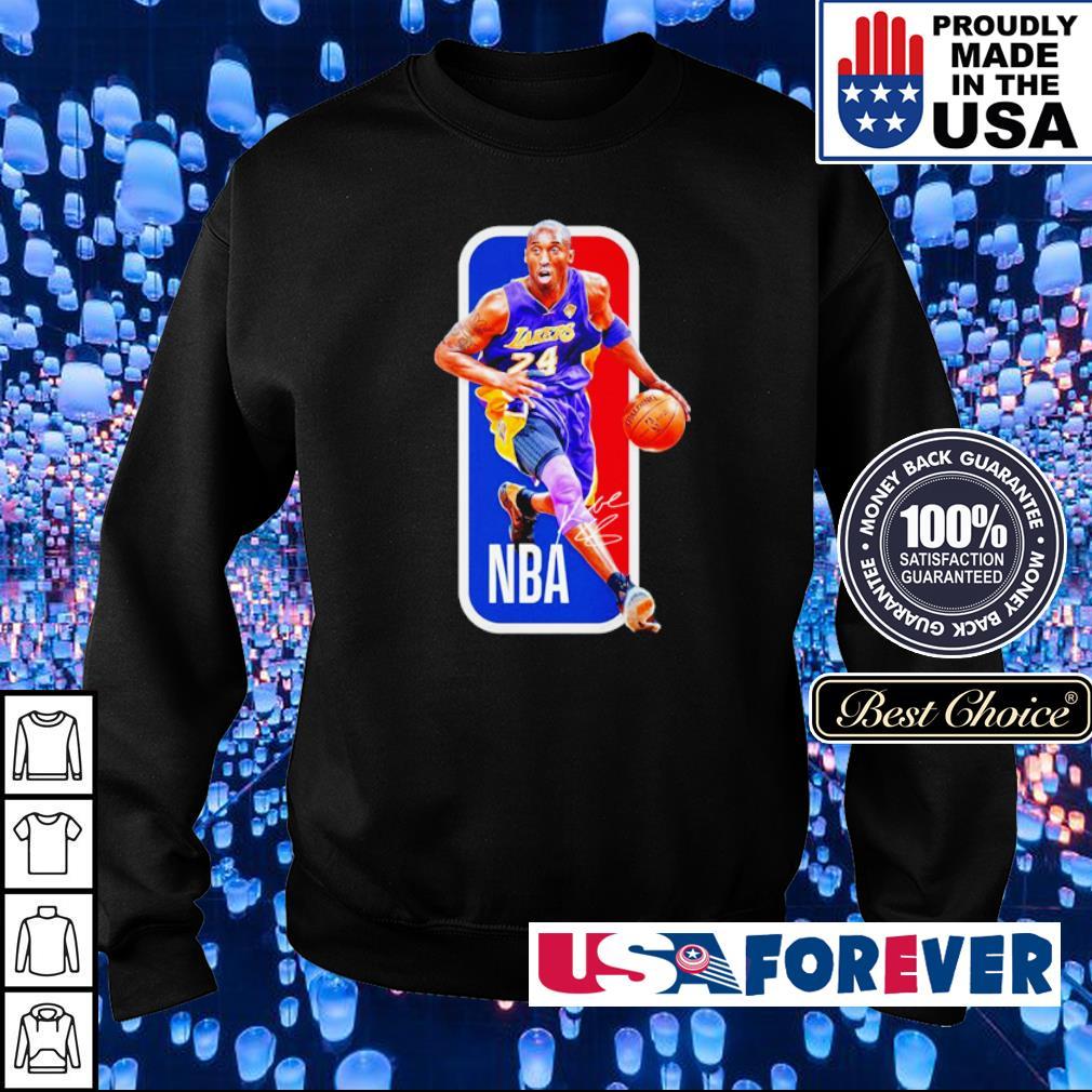 NBA RIP Kobe Bryant signature s sweater