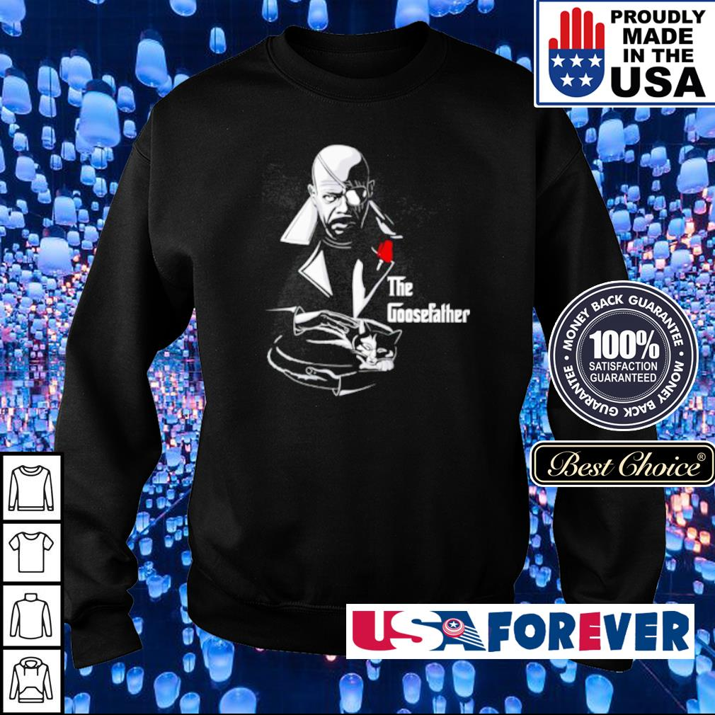 Nick Fury The Goosefather s sweater