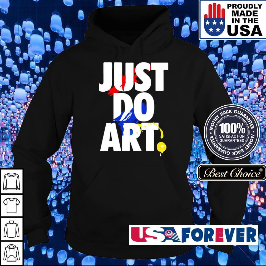 Nike Just Do Art s hoodie
