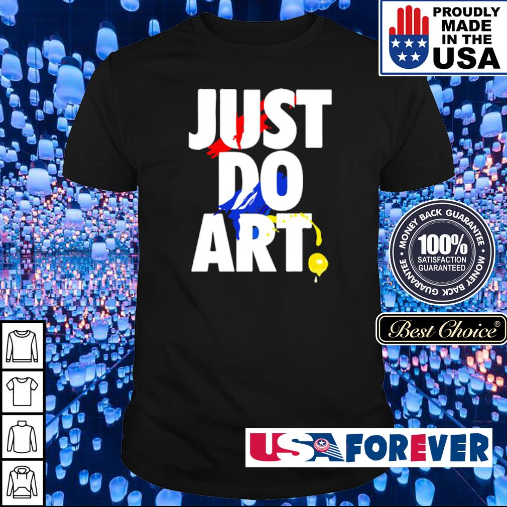 Nike Just Do Art shirt