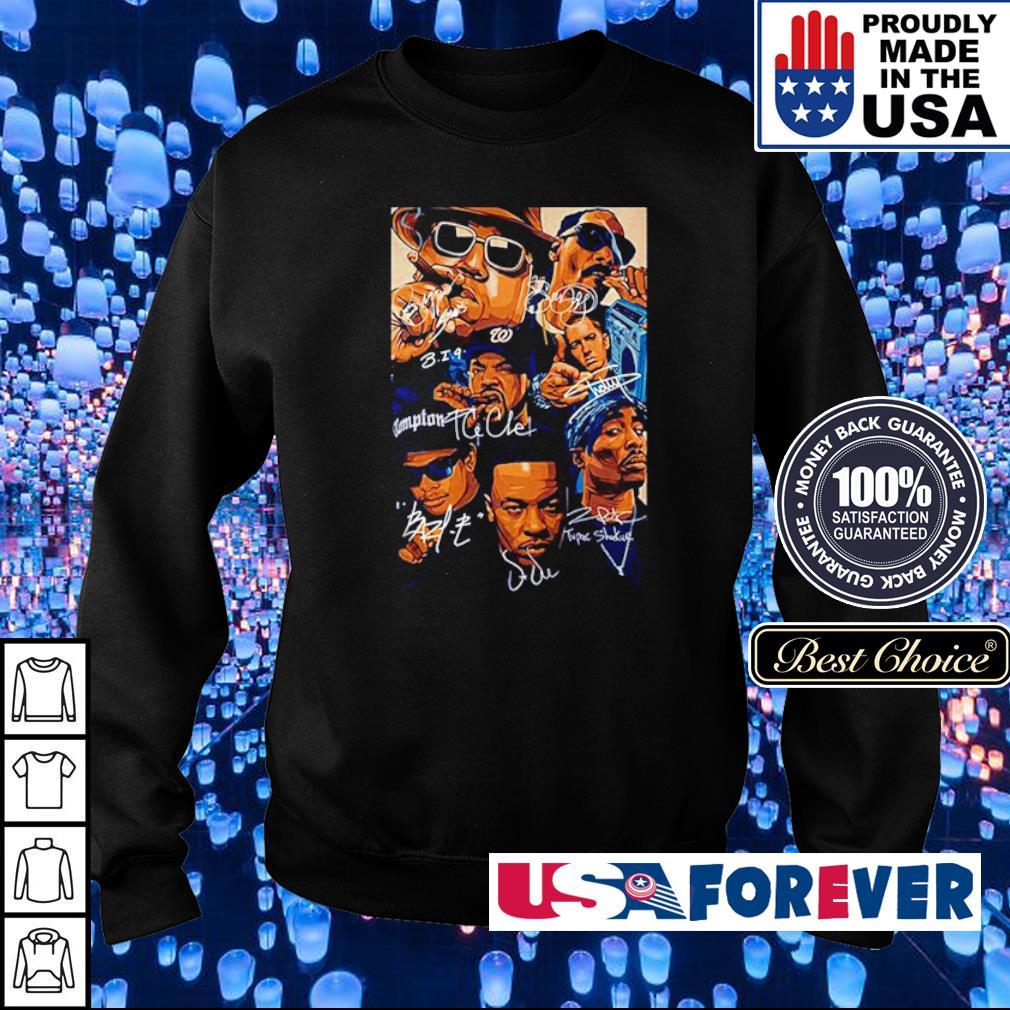 Notorious BIG, Tupac Shakur, Eminem, Snoop Dogg, Dre s sweater