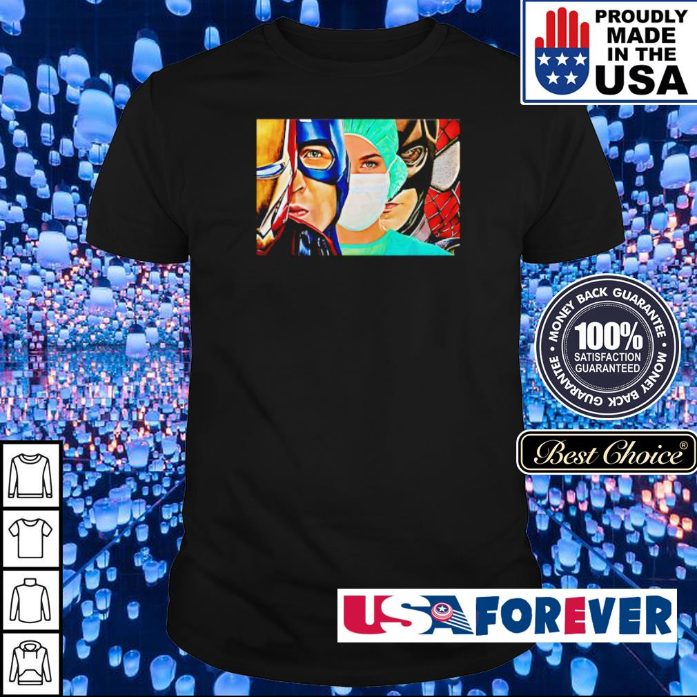Nurse are our superheroes shirt