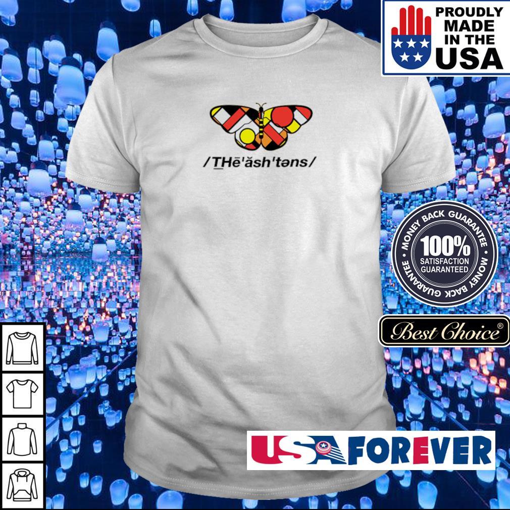 Official butterfly The ash tens shirt