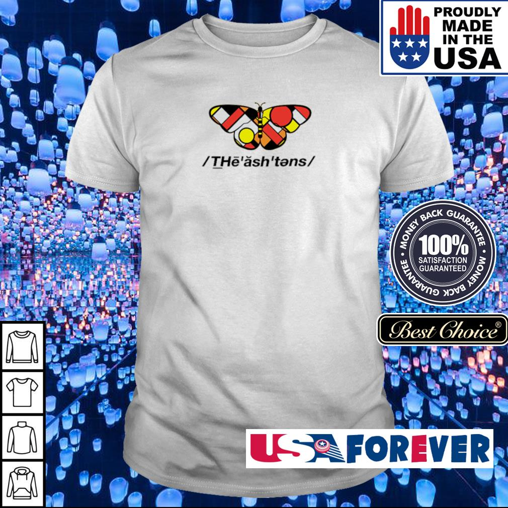 Official butterfly The ash tens shirt