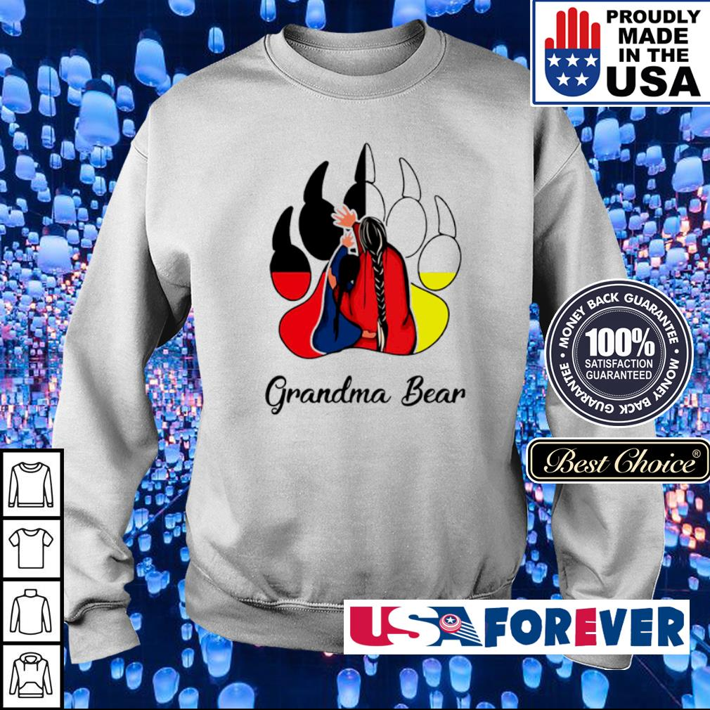 Official Grandma bear s sweater