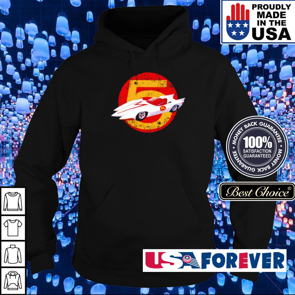 Official Match 5 racing car s hoodie