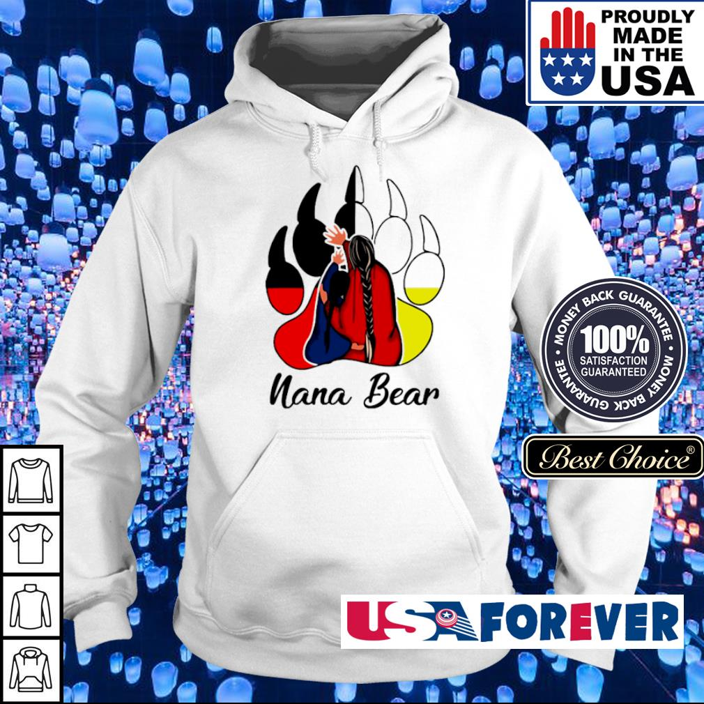 Official nana bear s hoodie