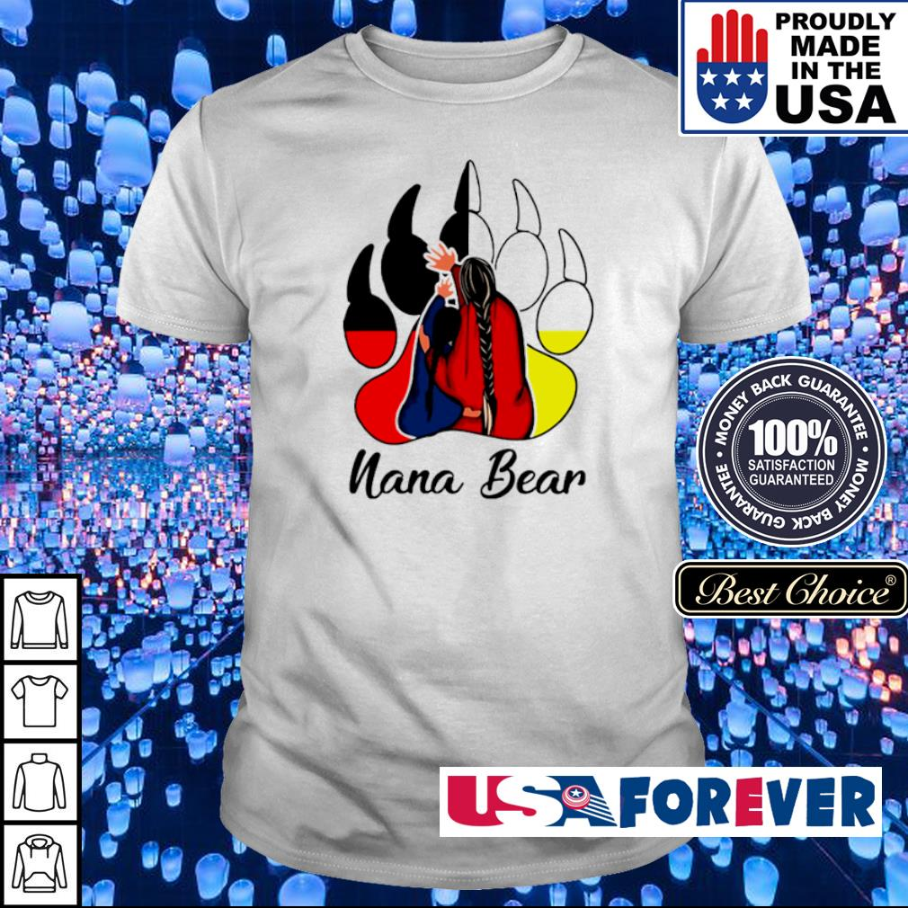 Official nana bear shirt