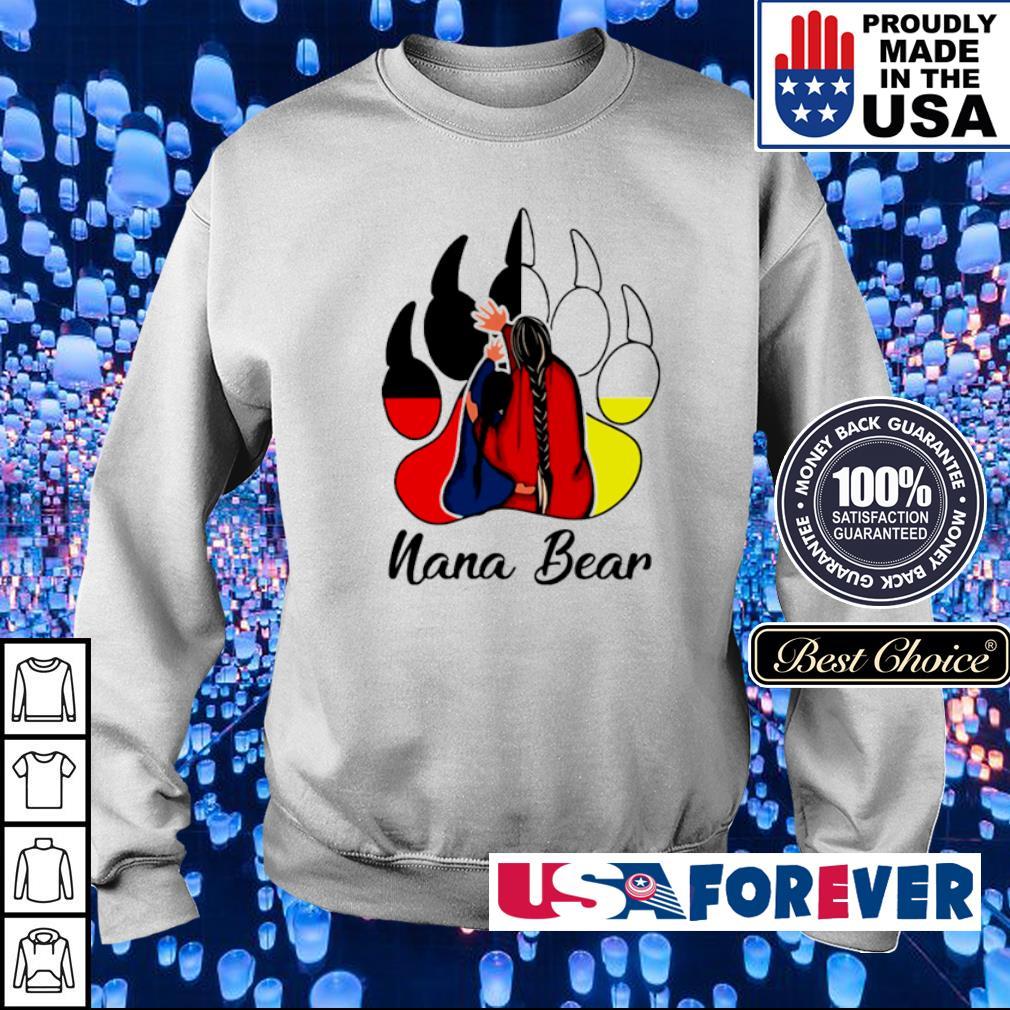 Official nana bear s sweater