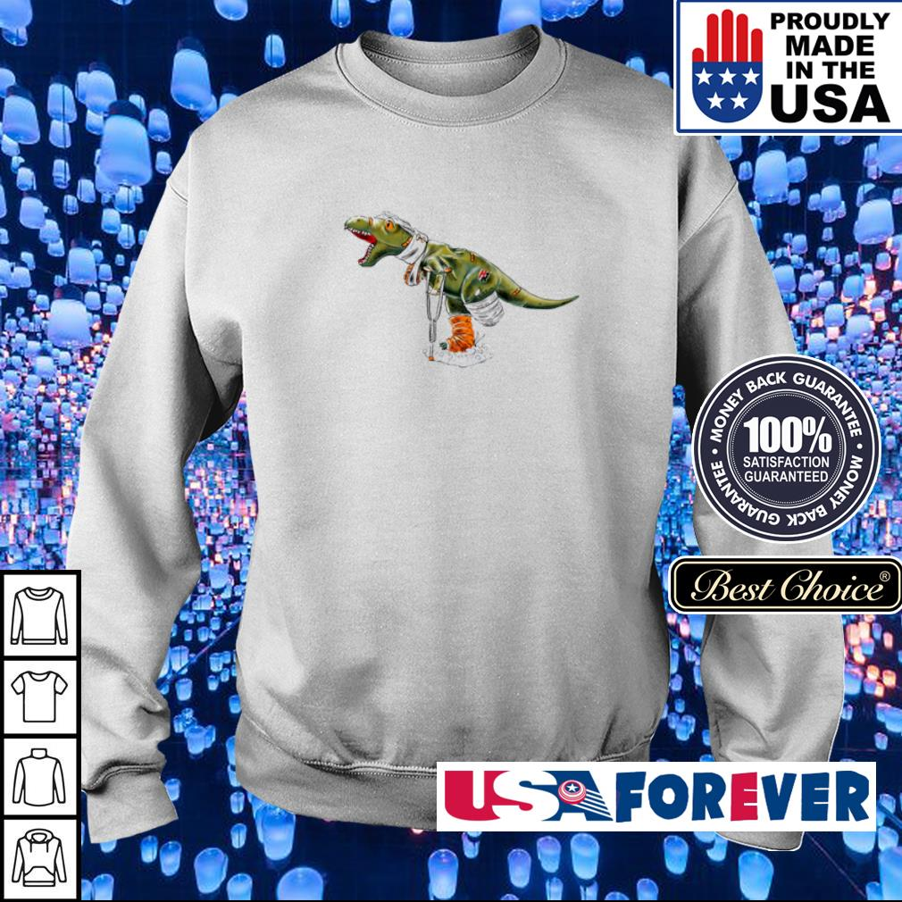 Official T Rex accident s sweater