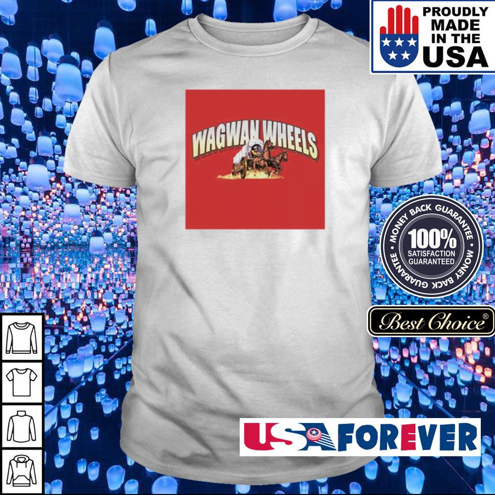 Official Wagwan Wheels shirt