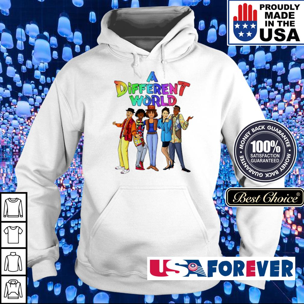 Offiicial LGBT Pride A Different World s hoodie