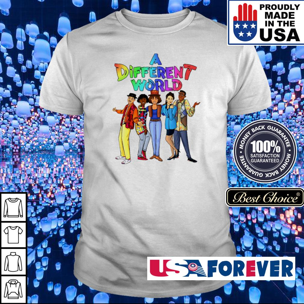 Offiicial LGBT Pride A Different World shirt