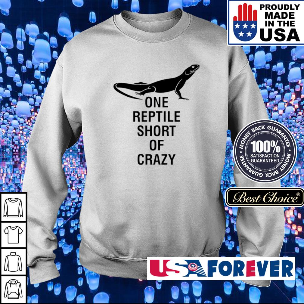 One reptile short of crazy s sweater
