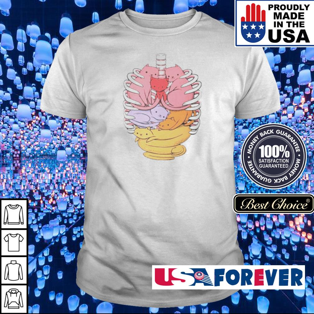 Organs made out of cats shirt