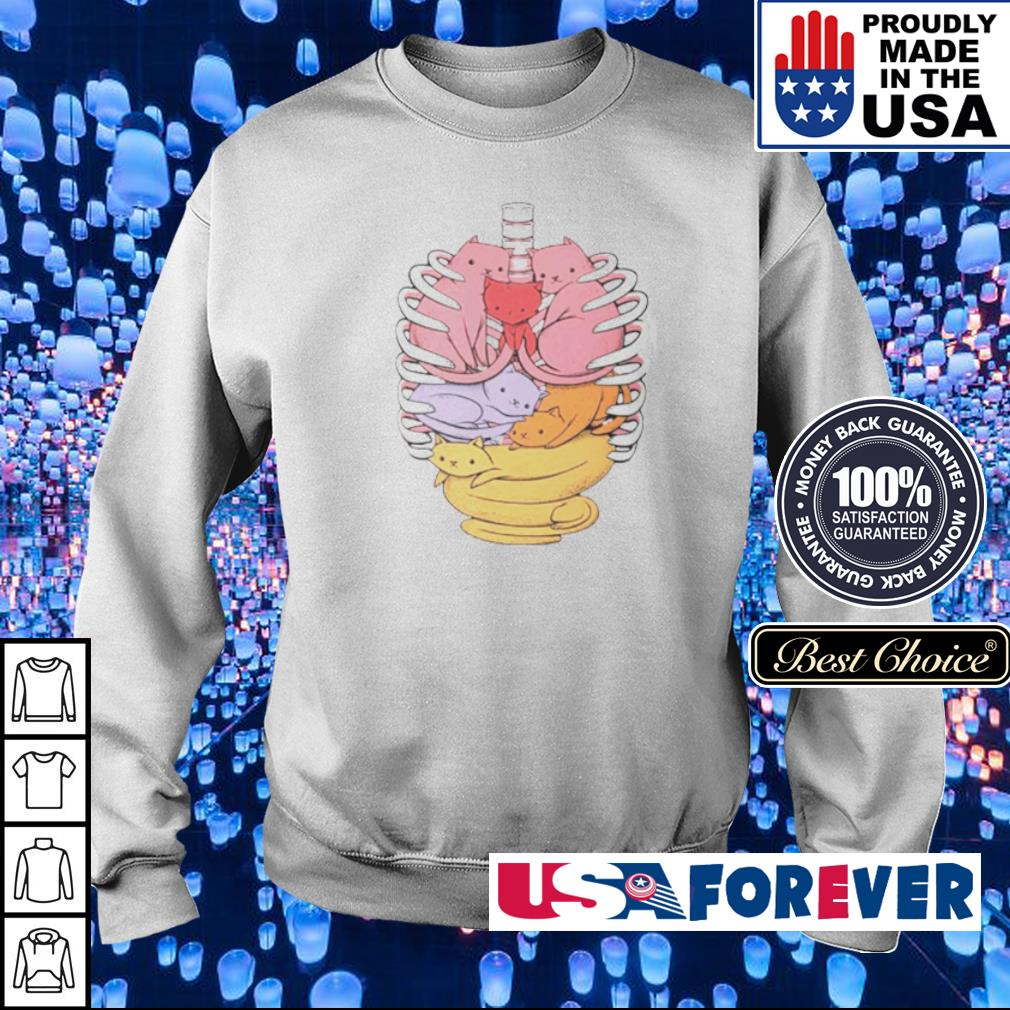 Organs made out of cats s sweater