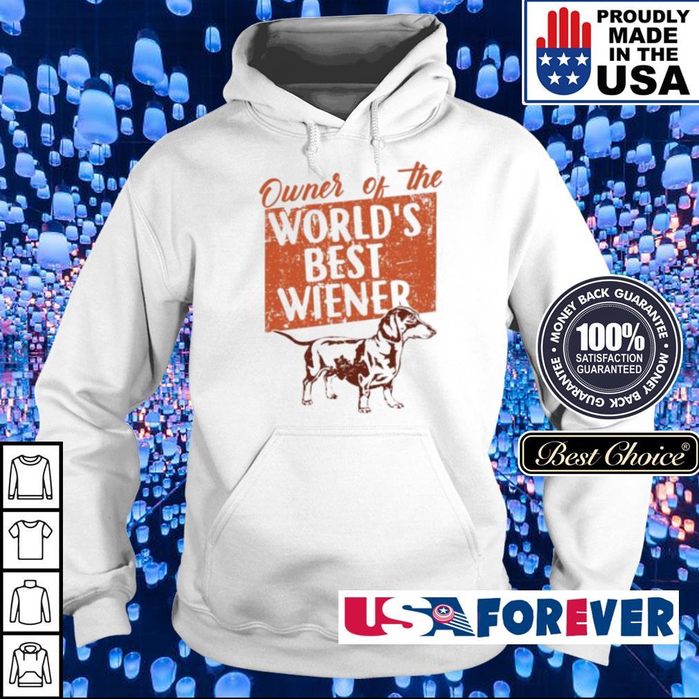 Owner of the world's best Wiener hoodie