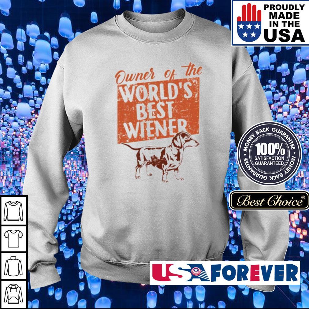 Owner of the world's best Wiener sweater