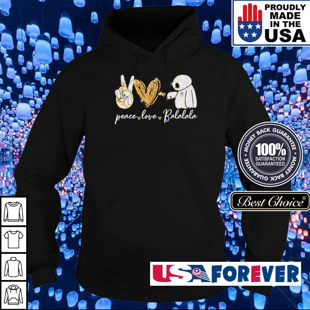Peave love and Balalala s hoodie