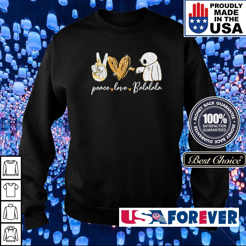 Peave love and Balalala s sweater