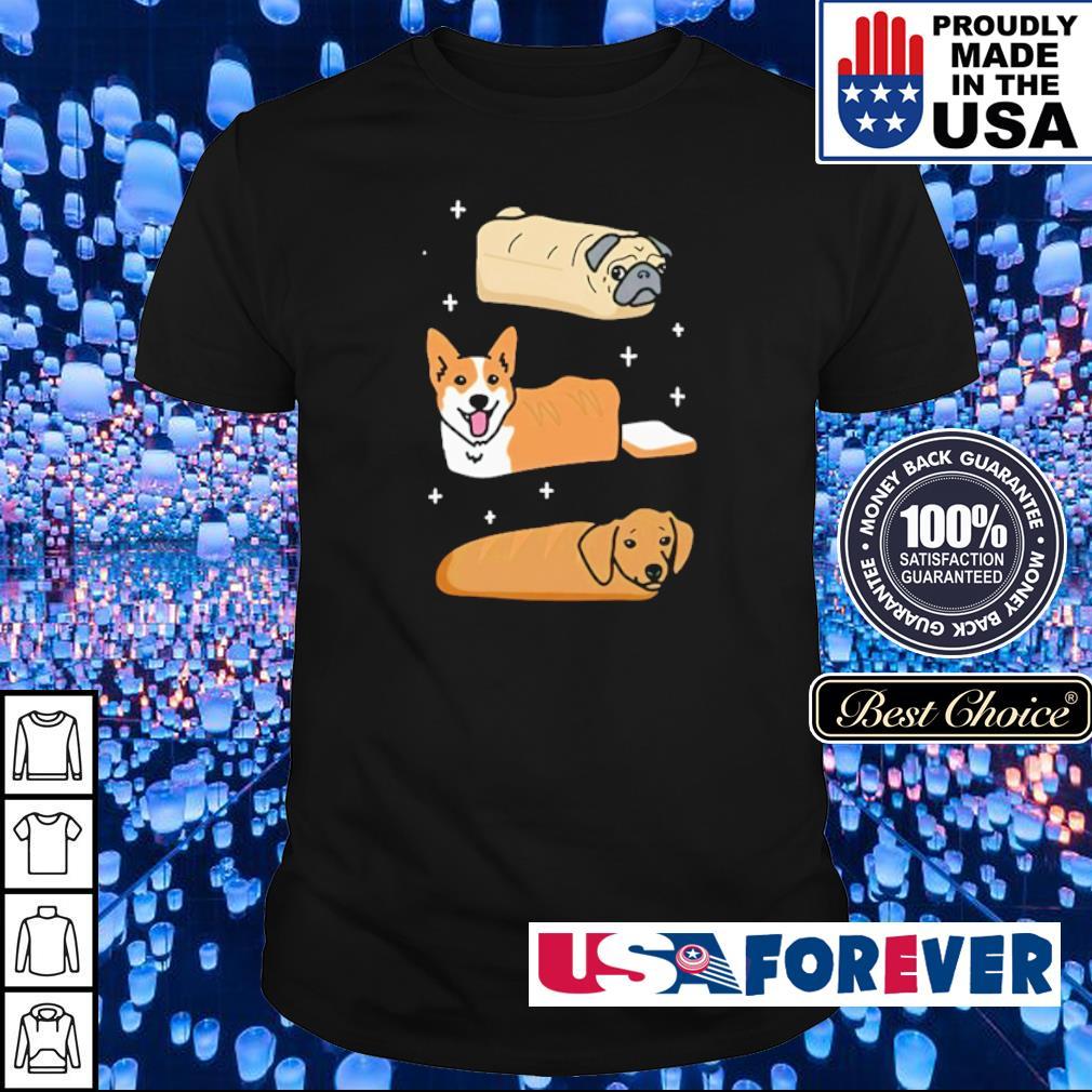 Pug Corgi Dachshund bread shirt