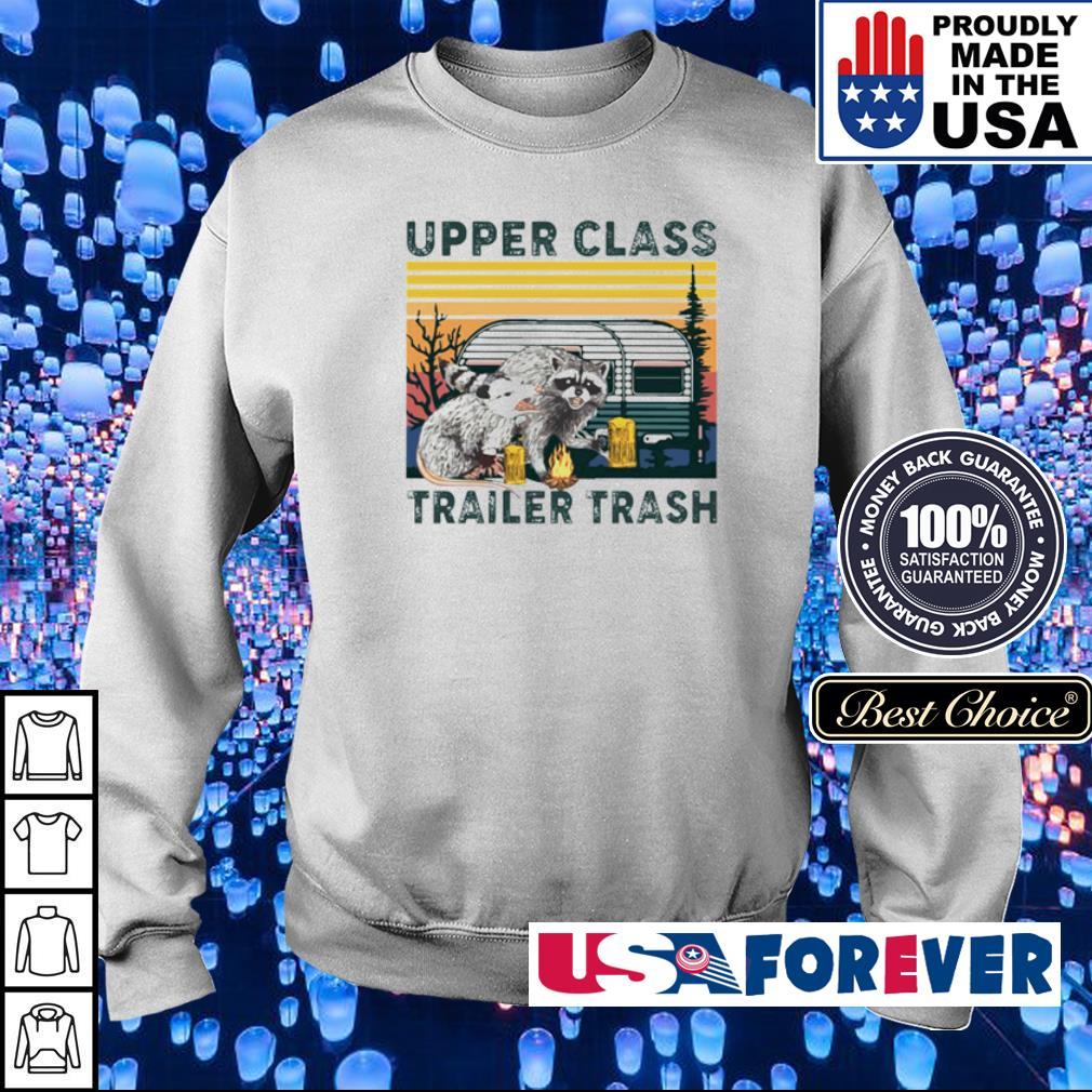 Racoon upper class trailer trash vintage s sweater