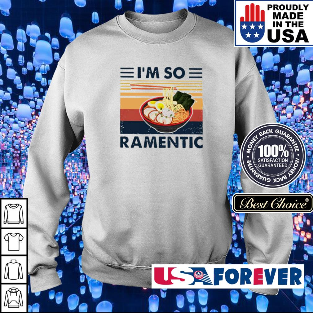 Ramen I'm so ramentic s sweater