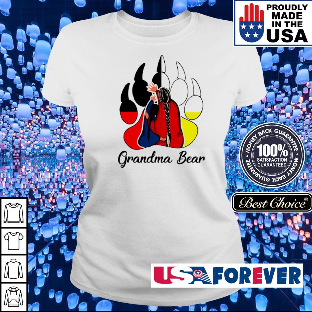 Red Indian Grandma bear s ladies