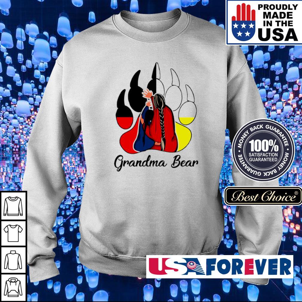 Red Indian Grandma bear s sweater