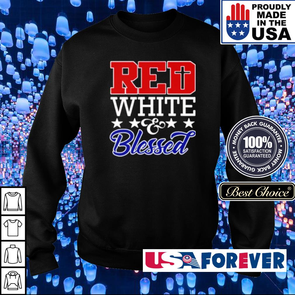 Red White Blessed s sweater