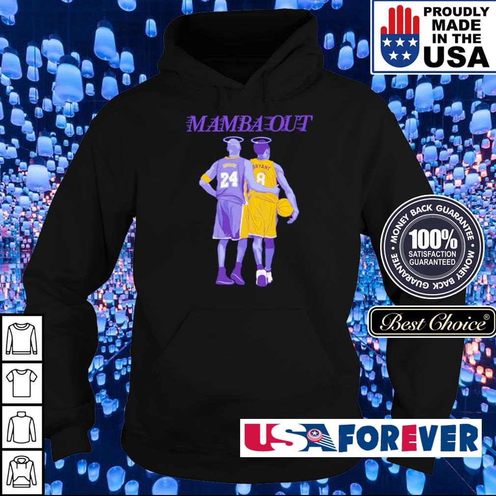 RIP Kobe Bryant Mamba Out s hoodie