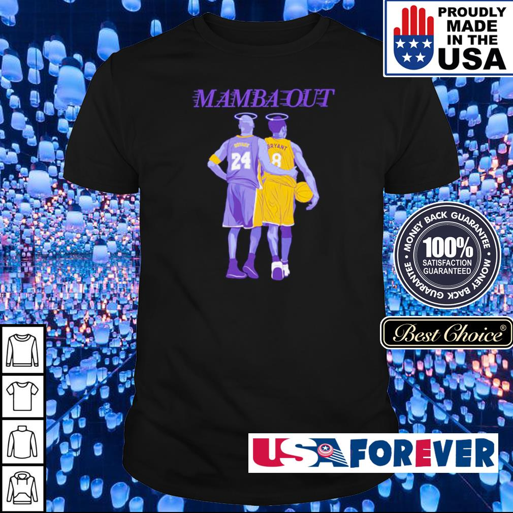 RIP Kobe Bryant Mamba Out shirt