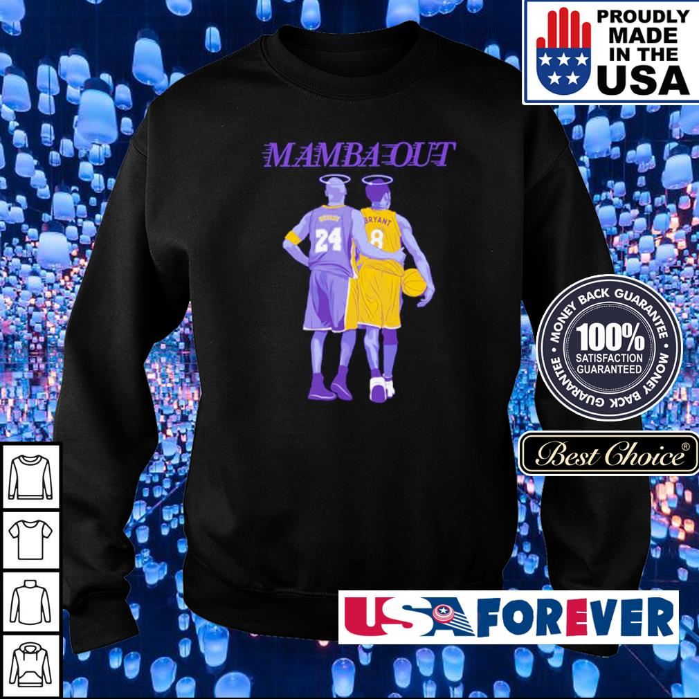 RIP Kobe Bryant Mamba Out s sweater