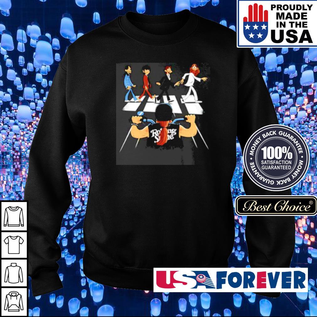 Rolling Stones Motor Abbey Road s sweater