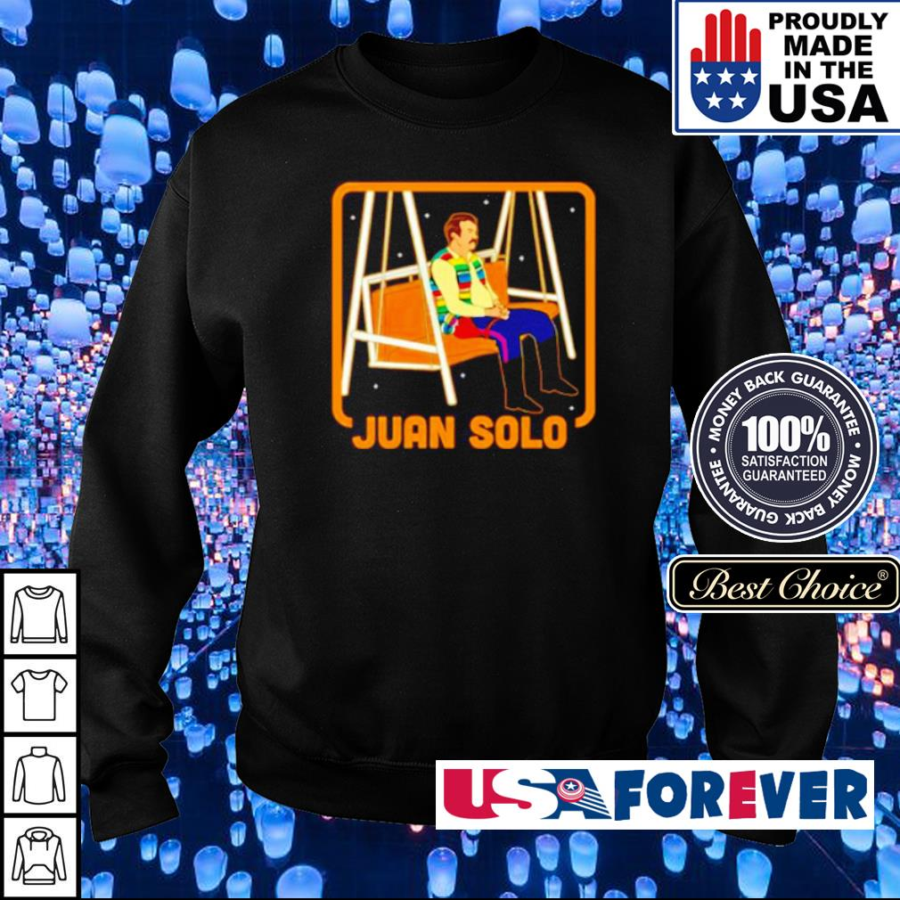 Sad Juan Solo s sweater