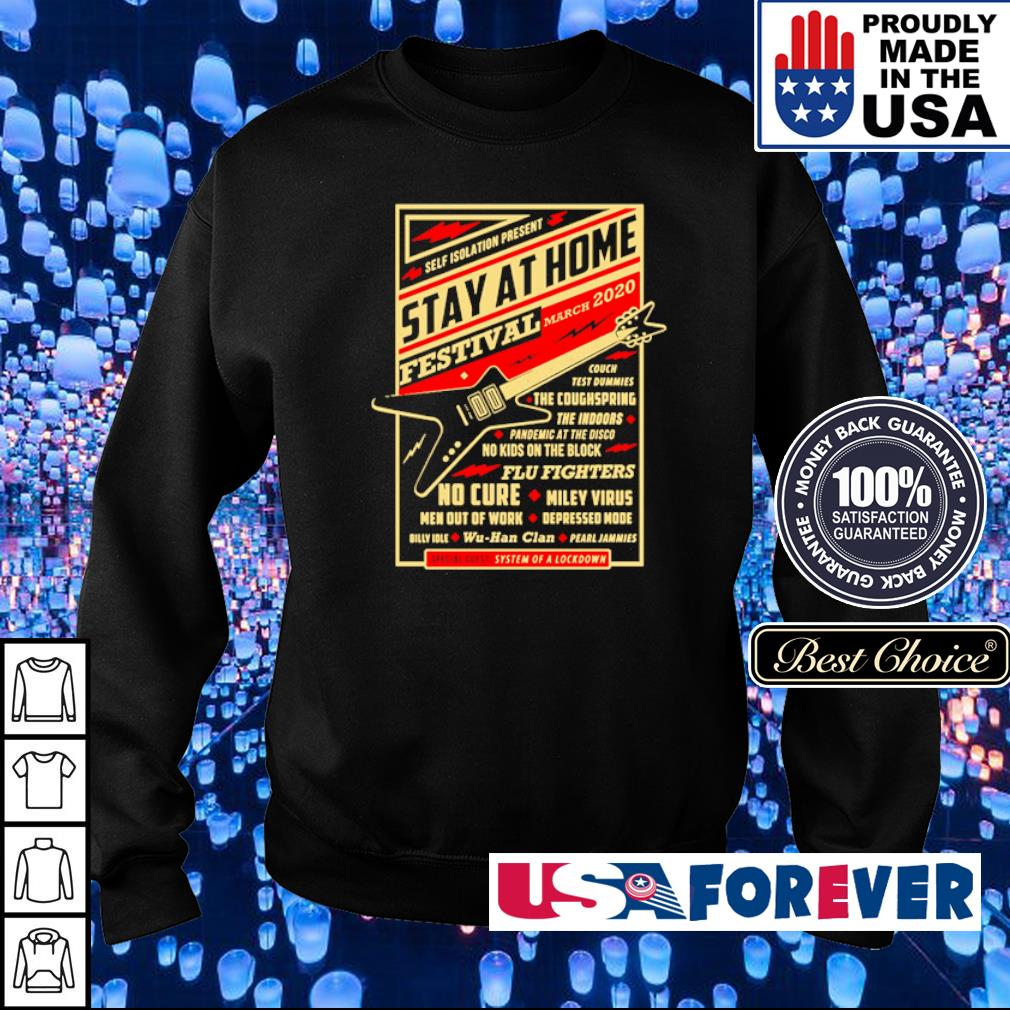 Self isolation present stay at home festival march 2020 s sweater