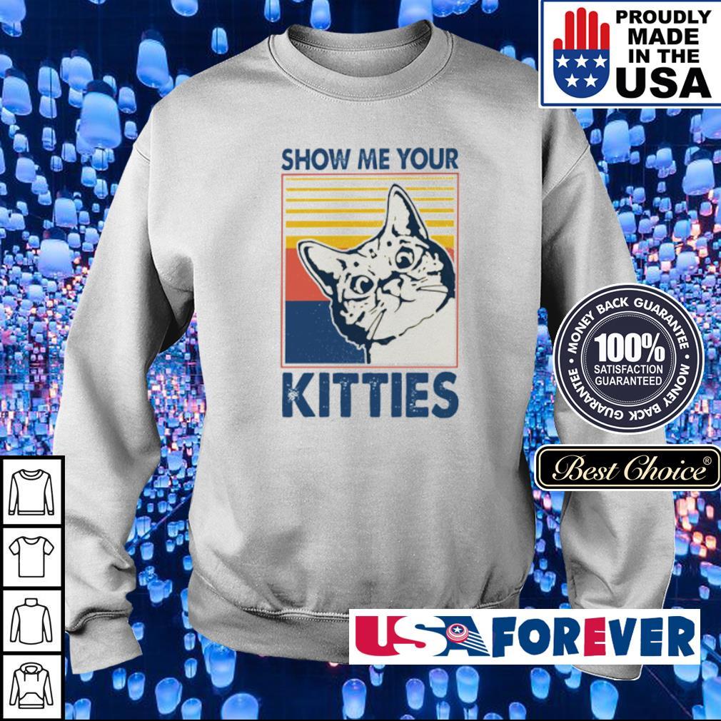 Shoe me your kitties vintage s sweater
